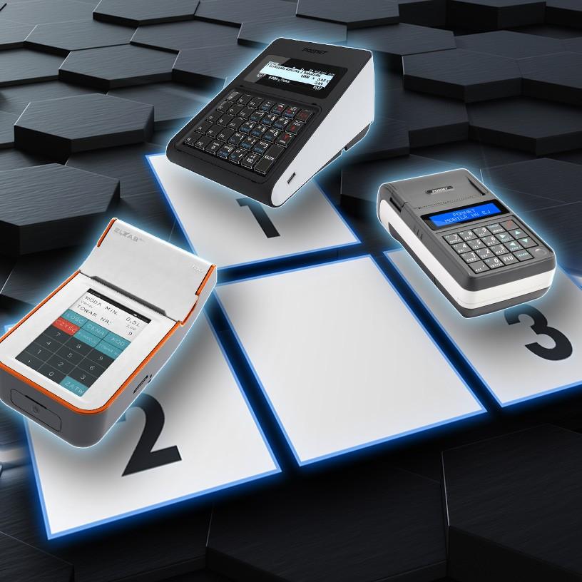 Kasy fiskalne - Posnet Revo, Elzab K10 i Posnet Mobile HS EJ